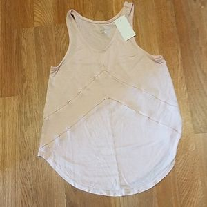 Small pink tank top nwt